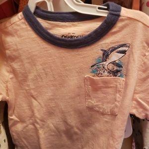 🤸♀️Oshkosh ringer, pocket T-shirt 🤸♂️